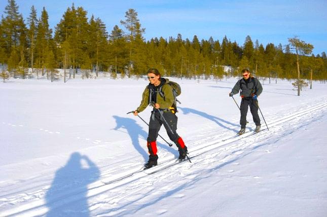 Wie gesund ist Skilanglaufen?