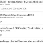 Wandern: Welche App ist die beste?