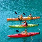 Wie paddelt man richtig im Kanu oder Seekajak?